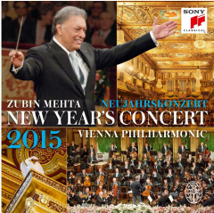 Zubin Mehta & Wiener Philharmoniker - Neujahrskonzert / New Year's Concert 2015 (CD)