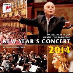 Barenboim Daniel & Wiener Philharmoniker - New Year's Concert 2014 / Neujahrskonzert 2014 (CD)