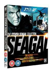 Seagal Collection - Driven To Kill/ The Keeper / Born To Raise Hell (Blu-ray)