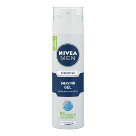 Nivea Men Sensitive Shaving Gel - 200ml