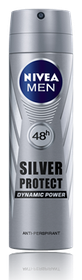 Nivea Deo Silver Spray Male 150ml