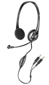 Plantronics Audio 326 Flexible PC Headset - Black