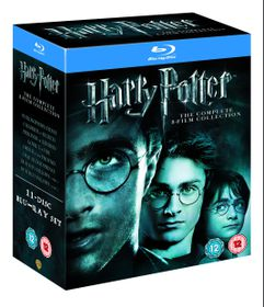 Harry Potter: 8-Film Collection (11 Disc Blu-ray)