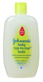 Johnson and Johnson - 300ml Top-To-Toe
