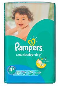 Pampers - Active Baby Nappies - Value Pack - Size 4