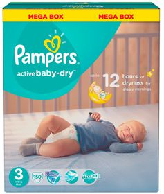 Pampers - Active Baby Midi Mega - Size 3