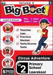 Big Boet Grade 2 - Educational Software - Vol 2