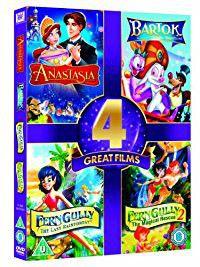 Anastasia / Bartok / Ferngully / Ferngully 2 (DVD)