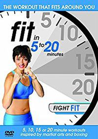 Fit In 5 To 20 Minutes: Fight Fit (Import DVD)