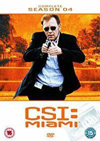 CSI Miami Complete Season 4 (DVD)