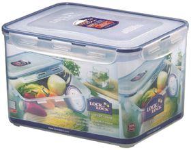 Lock and Lock - 9 Litre Rectangular Food Storage Container With Crisper - 29.5 cm x 23 cm x 18.5 cm