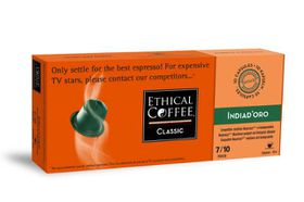 Ethical Coffee Company - India D'oro Coffee Capsules - Sleeve 10