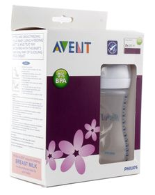 Avent - Natural Feeding Bottle - 260ml - Twin Pack