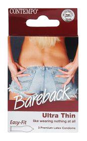 Contempo Bareback Condom 3's