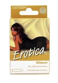 Contempo Erotica Ribbed 3 Pack