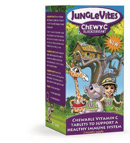 Vitaforce Junglevites Chewy C 60 Blackcurrent