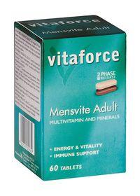 Vitaforce Mensvite Adult 60
