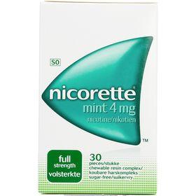 Nicorette Mint Gum 4Mg  30 - 51561