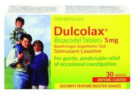 Dulcolax 5mg Tablets 30