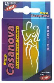 Casanova Condoms 4 Chocolate