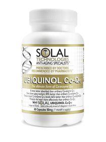 Solal Ubiquinol Coq10 50mg - 60s