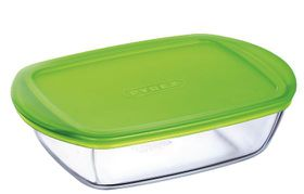 Pyrex - Storage Cook and Store Rectangular Dish With Lid - 400ml