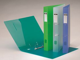 Bantex 2 D-Ring A4 25mm P.P Ring Binder - Imac Green