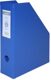Bantex Magazine Filing Box (PVC) - Blue