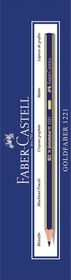 Faber-Castell Goldfaber 1221 Pencils - 3H (Box of 12)