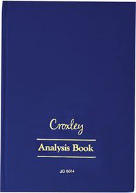 Croxley JD6014 Analysis A4 Book - 14 Cash Columns on 2 Pages