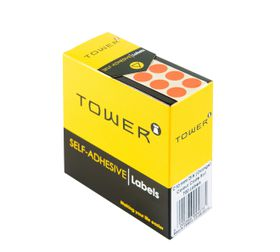 Tower C10 Colour Code Labels - Orange