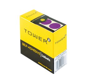 Tower C19 Colour Code Labels - Purple