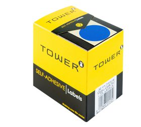 Tower C32 Colour Code Labels - Blue