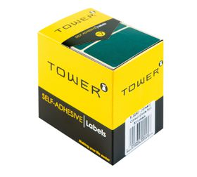 Tower R3250 Colour Code Labels - Green