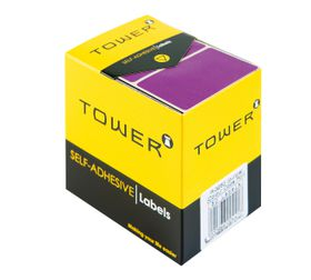 Tower R3250 Colour Code Labels - Purple