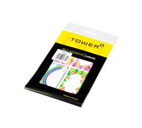 Tower Smiley Book Labels