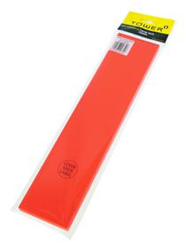 Tower Lever Arch Labels - Fluorescent Red (Pack of 100)