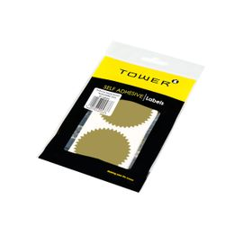 Tower Notarial Seals N60 - Gold