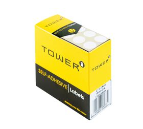 Tower White Roll Labels - C13