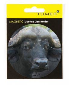 Tower Magnetic License Disc Holder - Buffalo