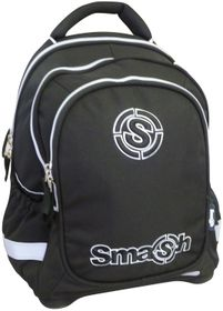 Smash Orthopedic Super Light 3 Division Plain Backpack - Black