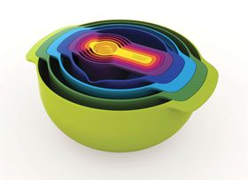 Joseph Joseph - Nest 9 Plus - Multi-Coloured Set