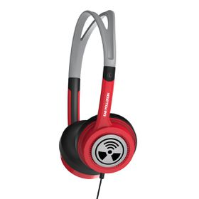 iFrogz Ear Pollution Toxix Red Headphones