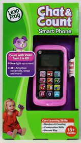 LeapFrog - Chat & Count Phone - Violet