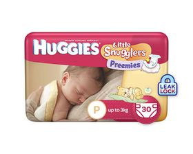 Huggies - Preemies - Size P - 30