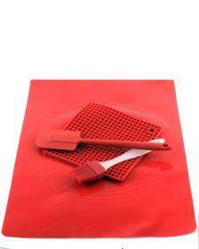 Silicone 4 Piece Pastry Set