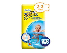 Huggies - Little Swimmers Size 2-3 - 12 Nappies (3-8kg)