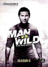 Man Vs Wild:Season 6 - (Region 1 Import DVD)