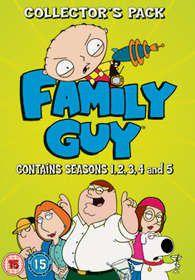 Family Guy: Seasons 1-5 (DVD)