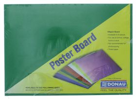 Donau Project Board - Bright Green (Pack of 100)